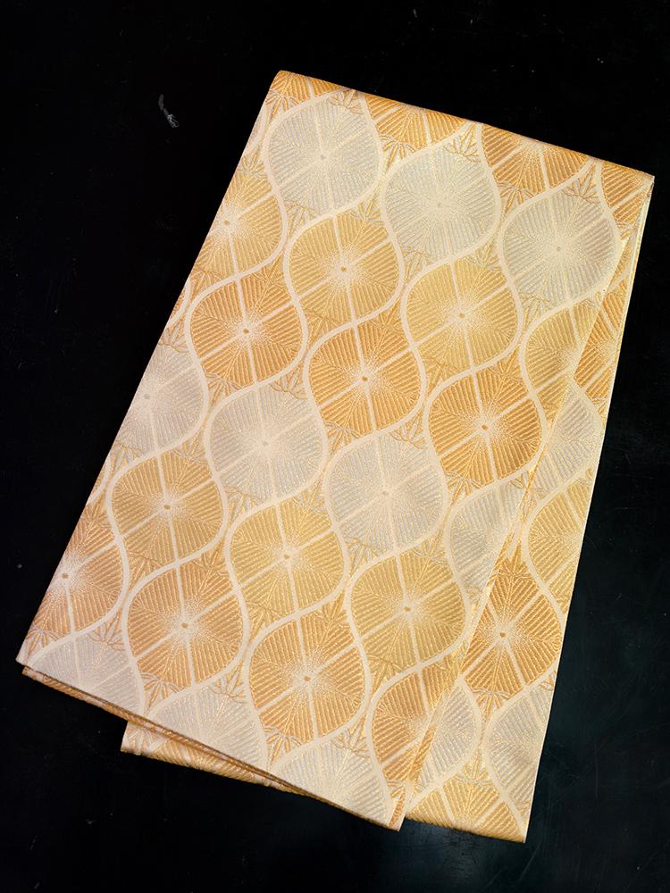 【幅広の袋帯レンタル】obi-140 幅広で少し長めの帯・留袖などに最適。
