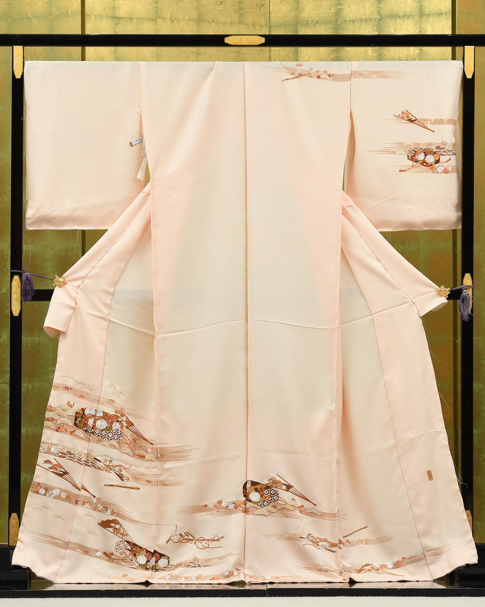 【最高級訪問着オーダーレンタル】オーダーレンタル訪問着・成謙謹製「ピンク系・文箱」品番:order202101