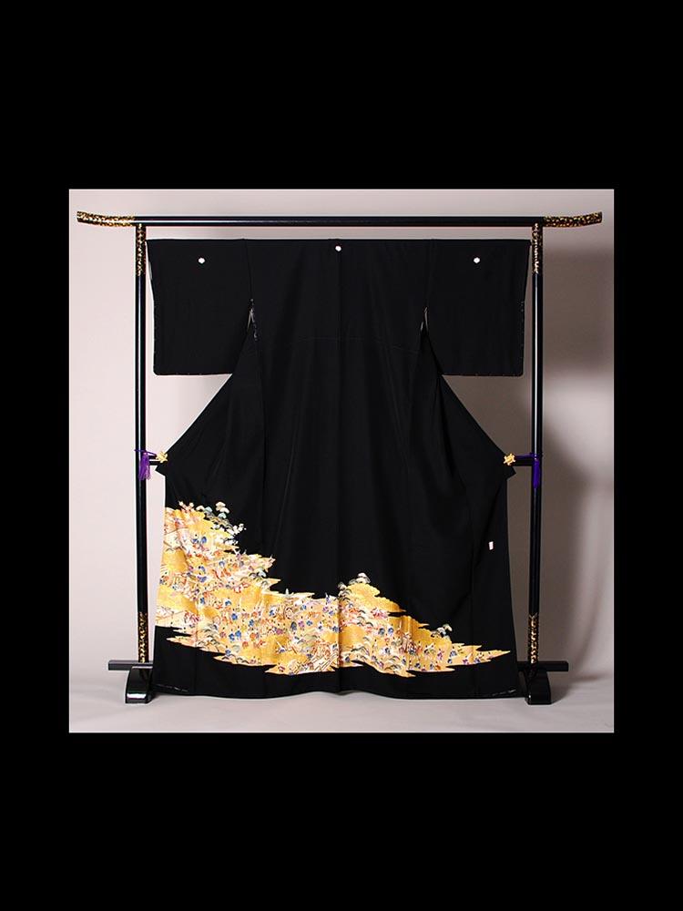 留袖レンタル。品番t-222の別画像です。