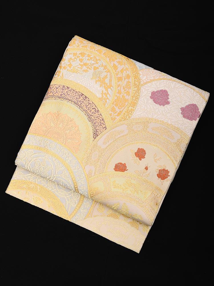 【高級帯レンタル】obi-23-252 山口美術織物謹製 絵皿 サイズ 絵皿