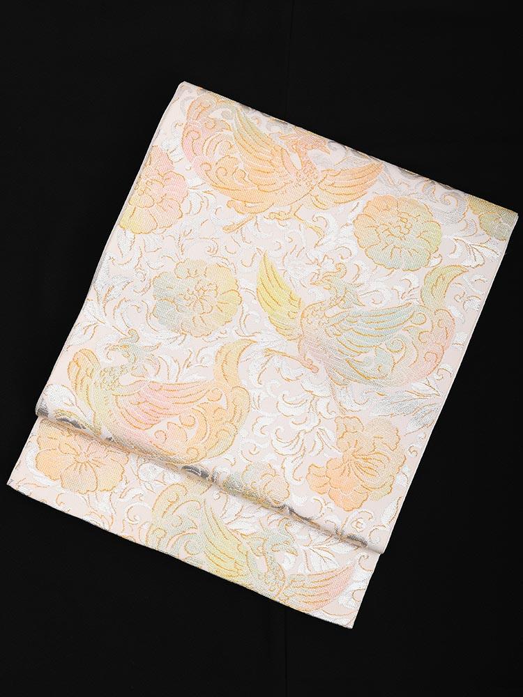 【最高級の西陣織袋帯レンタル】obi-25-4 厳選逸品 鳳凰 サイズ