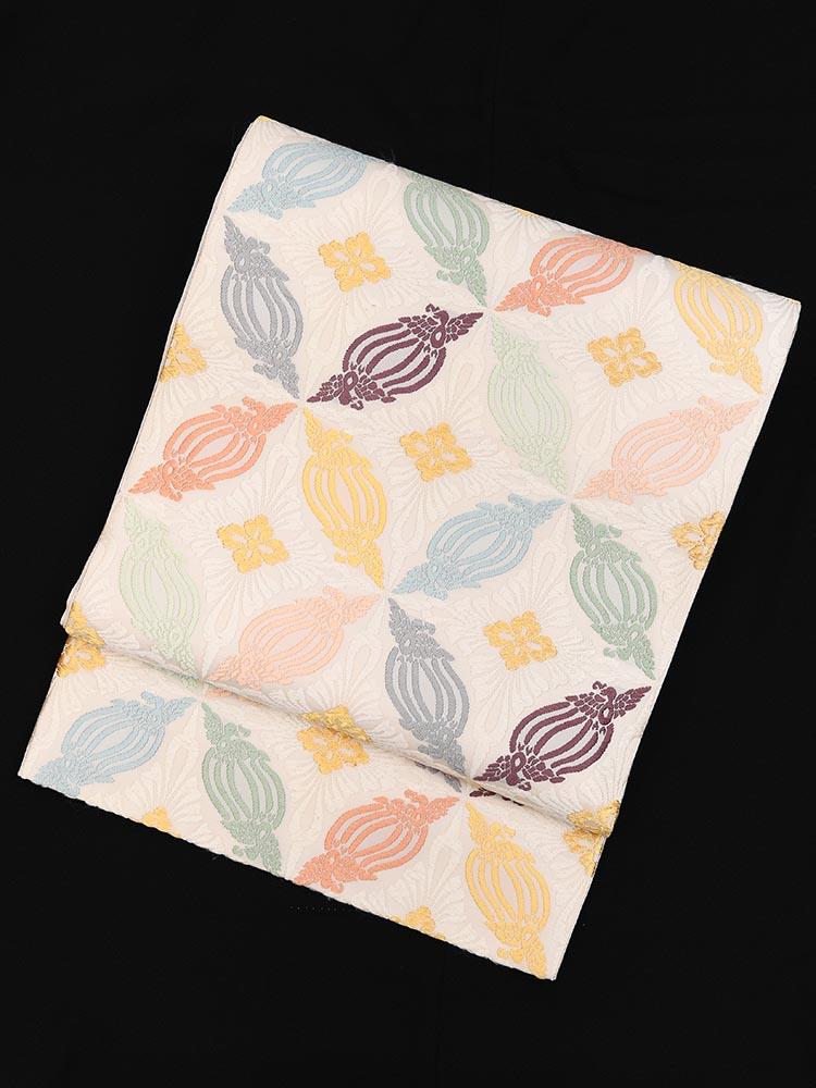 【高級帯レンタル】obi-26-281 山口美術織物 トリダスキ サイズ トリダスキ
