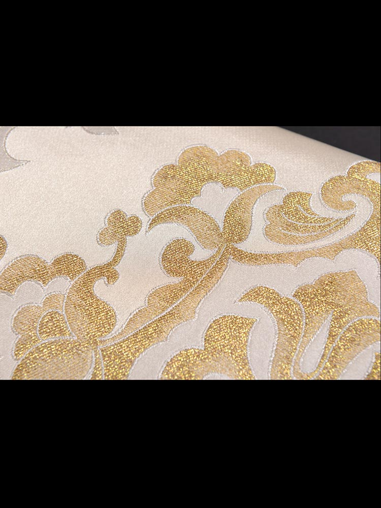 【高級帯レンタル】obi-27-333 高島織物謹製 金 葡萄唐草 サイズ 唐草