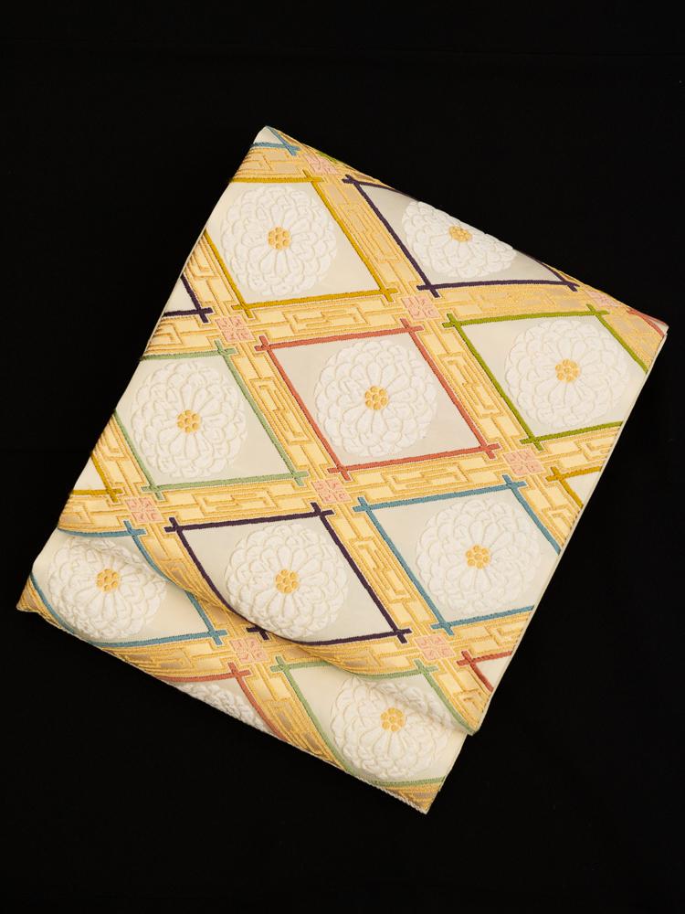 【高級帯レンタル】obi-348 最高級袋帯レンタル「鈴木織物謹製」